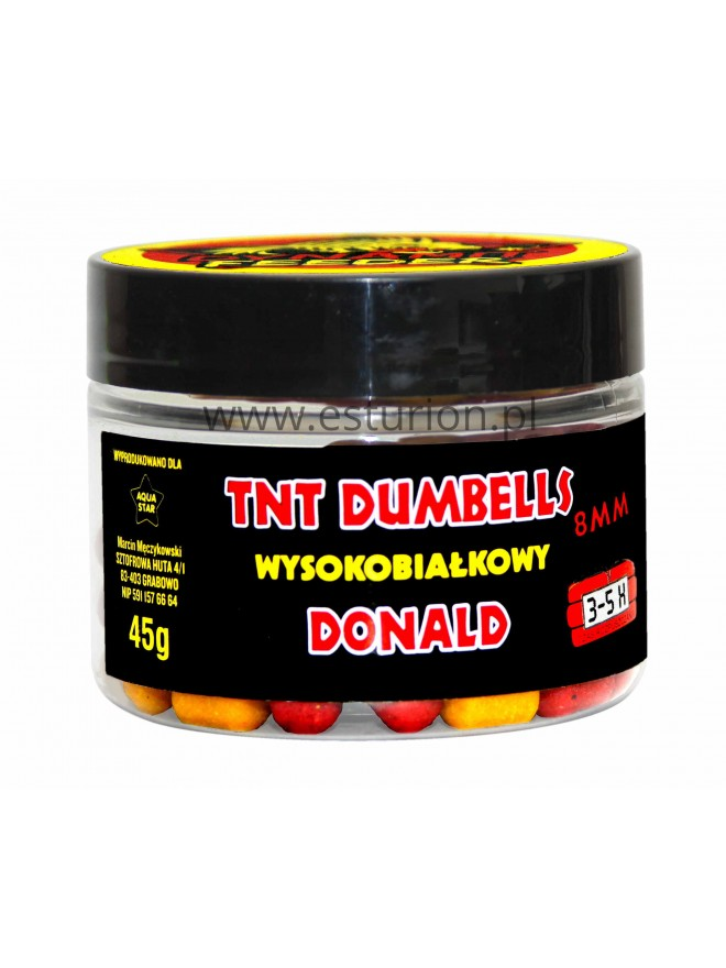 Dumbells donald 8mm 45g Aqua Star