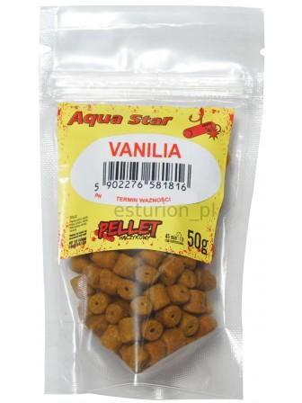 Pellet haczykowy 12mm 50g wanilia Aqua Star