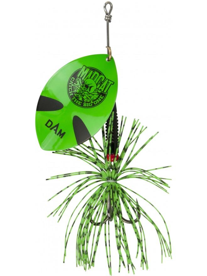 Błystka obrotowa Madcat Big Blade Spinner Green 55g DAM