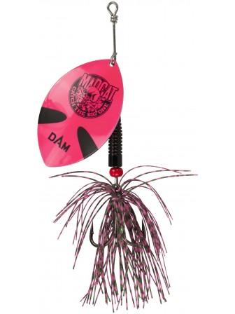 Błystka obrotowa Madcat Big Blade Spinner Pink 55g DAM