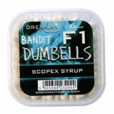 Pellet bandit dumbells scopex syrup 6mm 85g Drennan