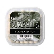 Pellet bandit dumbells scopex syrup 8-10mm 85g Drennan