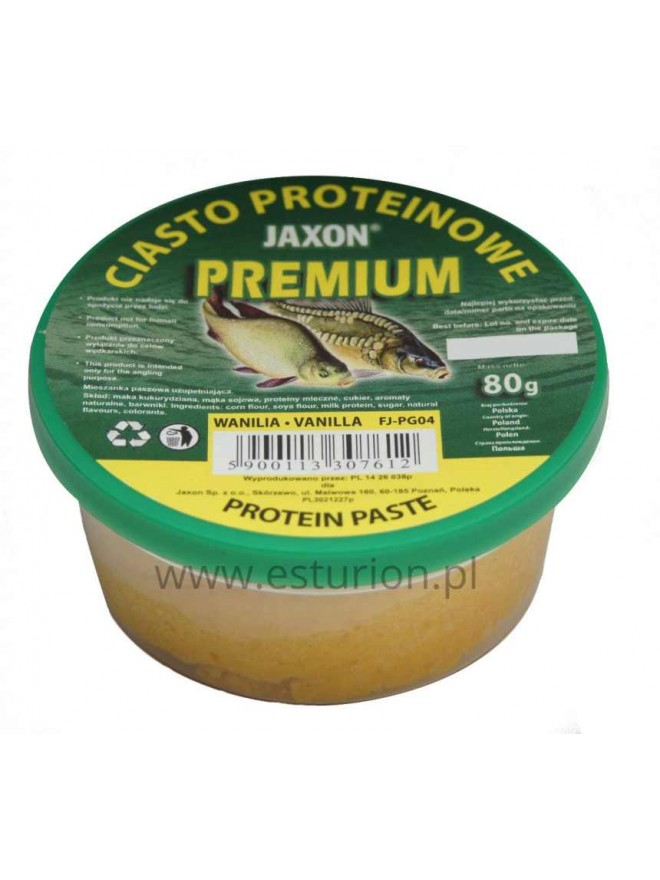 Ciasto proteinowe waniliowe 80g Jaxon