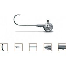 Główki jigowe Precision 1/0 3g srebrne Owner