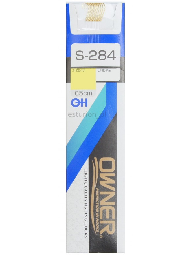 Haczyki S284 Sode nr 8+przypon 0,16 9szt Owner