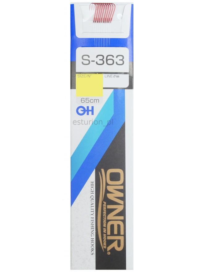Haczyki S363 Chika nr 18+przyp. 0,09 10szt Owner