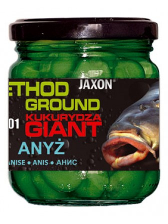 Kukurydza Method Ground Gigant 125g anyż Jaxon