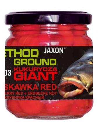 Kukurydza Method Ground Gigant 125g truskawka Jaxon