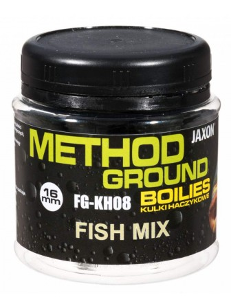 Kulki haczykowe Method Ground fish mix 16mm 100g Jaxon
