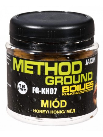 Kulki haczykowe Method Ground miód 16mm 100g Jaxon