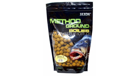 Kulki proteinowe Method Ground waniliowe 16mm 1kg Jaxon