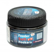 Pellet haczykowy Feeder Soft Hookers ryba-halibut 8 & 10mm 90g Carp Zoom
