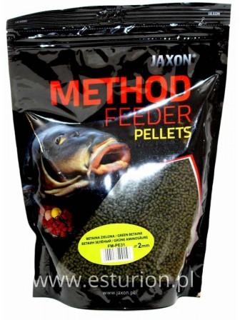Pellet Method Feeder betaina zielona 2mm 500g Jaxon