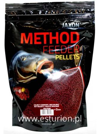 Pellet Method Feeder halibut czerwony 2mm 500g Jaxon