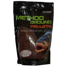 Pellets Method Ground krab 12mm 1kg Jaxon