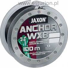 Plecionka Anchor WX8 0,12mm 100m Jaxon