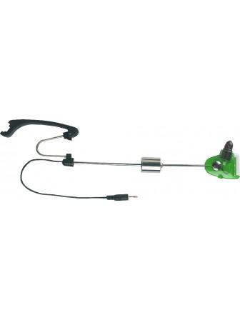 Sygnalizator brań do założenia na podpórce zielony 29cm Jaxon