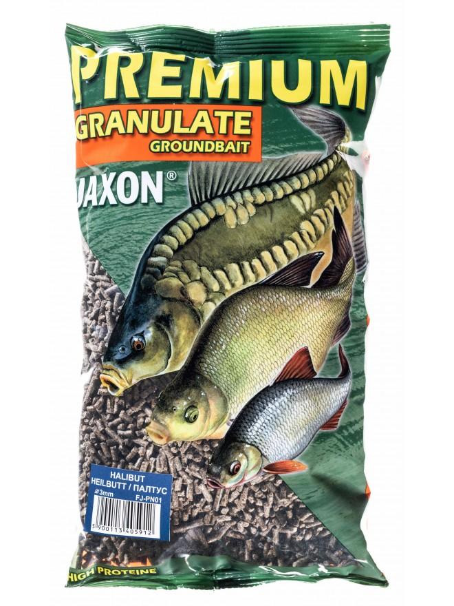 Granulat zanętowy halibutowy 1kg Jaxon