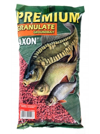 Granulat zanętowy truskawkowy 1kg Jaxon