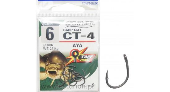 Haczyki CT4 Carp Taff nr 6 9szt Owner