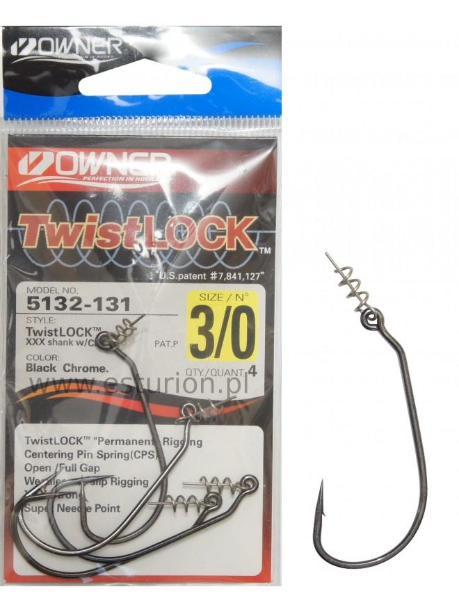 Haczyki Twistlock CPS nr 3/0 4szt Owner