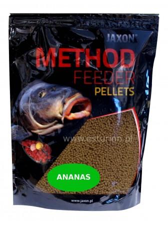 Pellet Method Feeder ananas 2mm 500g Jaxon