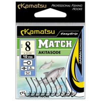 Haczyki Akitasode Match 10blno Kamatsu