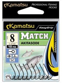 Haczyki Akitasode Match 12blno Kamatsu