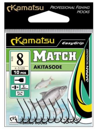 Haczyki Akitasode Match 16gł Kamatsu