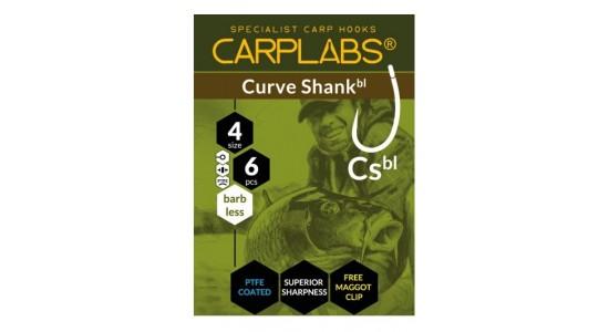 Haczyki curve shank barbless 6 tco op.6szt T-116 Carplabs