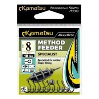 Haczyki method feeder Specialist 10 blno K-811 op.10szt Kamatsu