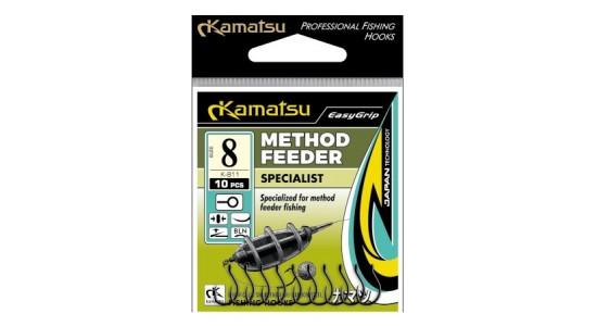 Haczyki method feeder Specialist 12 blno K-811 op.10szt Kamatsu