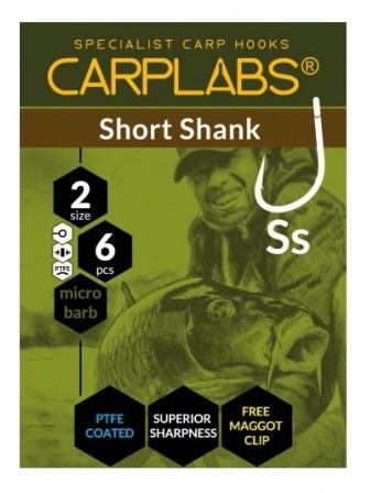 Haczyki short shank 4 tco op.6szt T-102 Carplabs