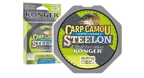 Plecionka steelon camou spring summer 0,22/250 Konger