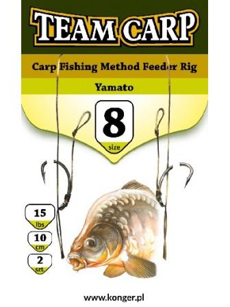 Przypon karpiowy Chinu boilie rig 1BLNO/25Lbs/20cm Team Carp Konger