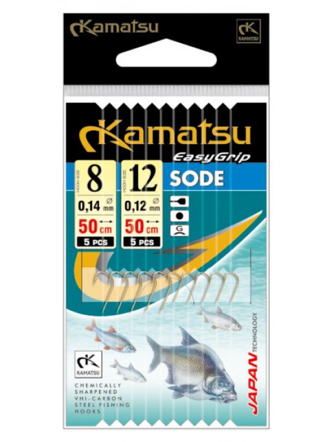 Przypony double 50 Sode Leszcz 8/14mm 12/12mm gł op. 10szt Kamatsu