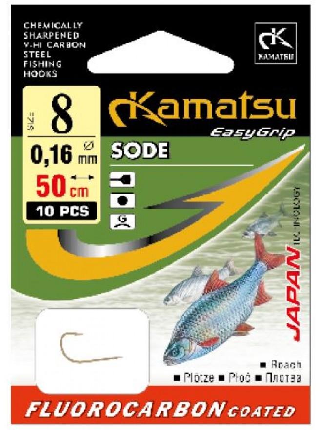 Przypony FC 50 Sode płoć 14/0,12 gł 5401 Kamatsu