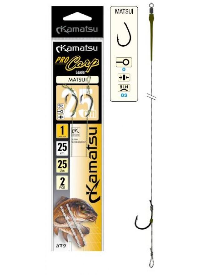 Przypony Pro Carp Matsui 2BLN/25cm Kamatsu