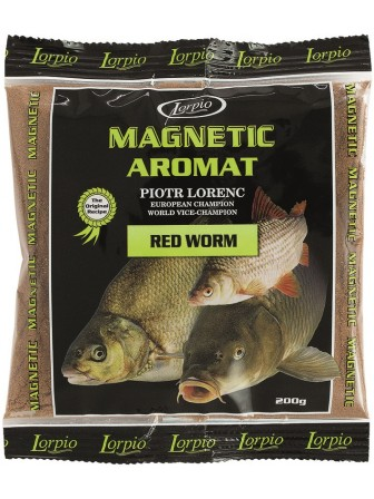 Aromat Magnetic czerwony robak 200g Lorpio