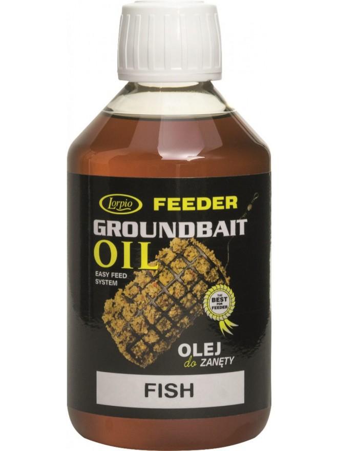 Dodatek Feeder Groundbait Oil Fish 250ml Lorpio