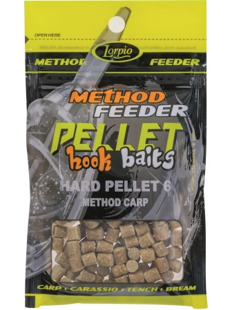 Hook Baits Hard Pellet 6mm method carp 25g Lorpio