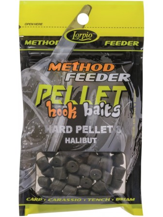 Hook Baits Hard Pellet 8mm halibut 25g Lorpio