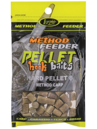 Hook Baits Hard Pellet 8mm method carp 25g Lorpio