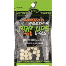 Hook Baits POP-UPS Dumbells 8x10mm krewetka i halibut 15g Lorpio