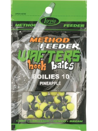 Hook Baits Wafters Boilies 10mm ananas 15g Lorpio