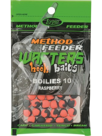 Hook Baits Wafters Boilies 10mm malina 15g Lorpio