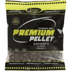 Pellet Premium black halibut 2,0mm 200g Lorpio