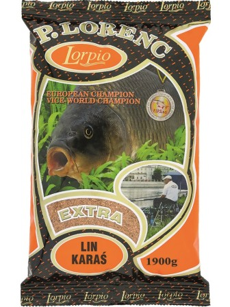 Zanęta Extra Lin, Karaś 1,9kg Lorpio