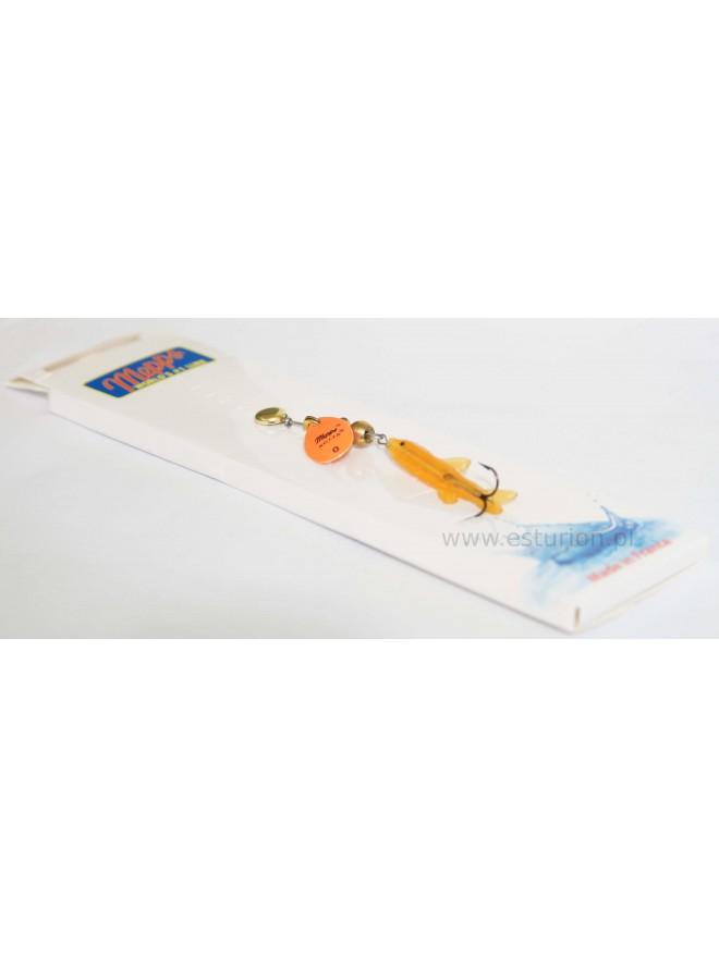 Błystka obrotowa Aglia Mini Saumon orange 0/3g Mepps