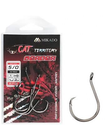 Haczyki Cat Territory Beader 10/0 BN 3szt Mikado